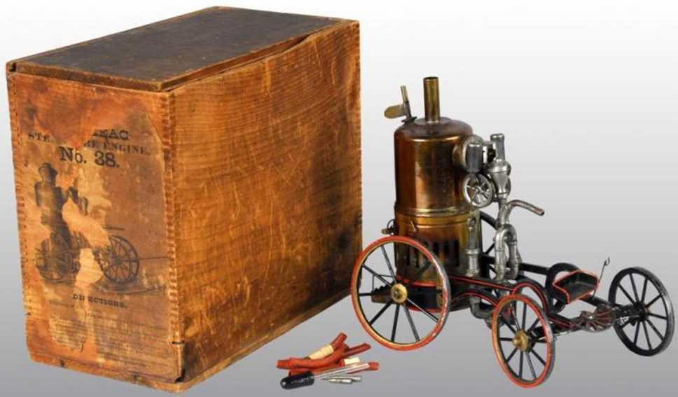 Buckmann Buckmann Manufacturing Company of Brooklyn Fahrzeuge Echtdampf-Feuerwehrpumpenwagen. Bruckmann produzierte sechs