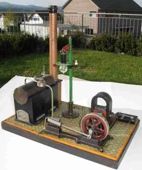 Carette 150 Liegende Dampfmaschine