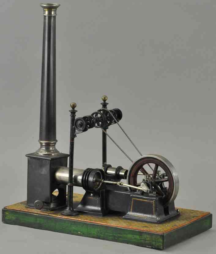 carette 687/1 dampfspielzeug stehender heissluftmotor