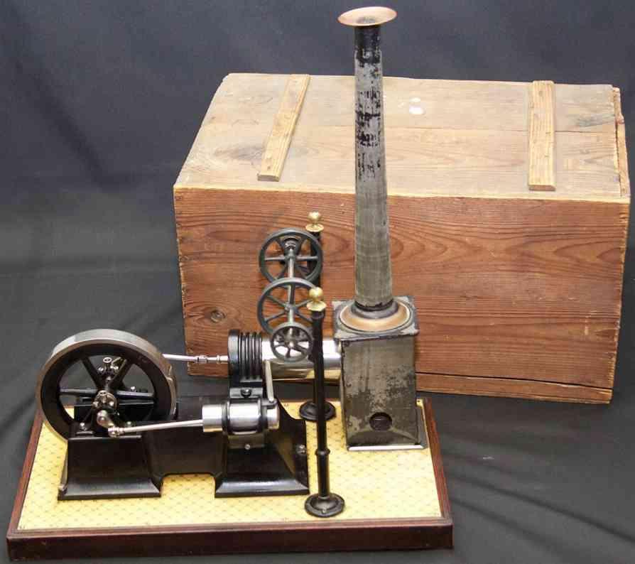 carette 687/3 steam toy lying hot air engine