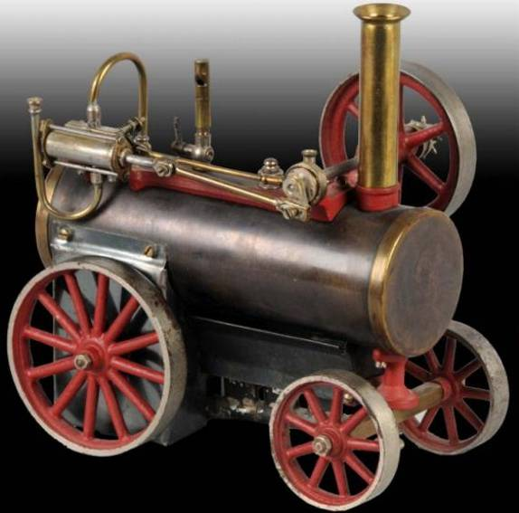 carette 692/1 steam toy steam traction engine