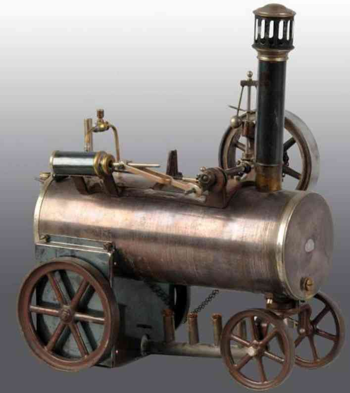 Carette 692/2  Steam traction engine