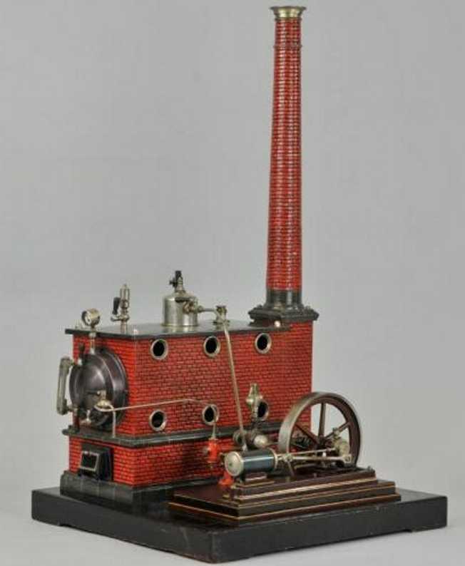 Carette Echtddampfmaschine