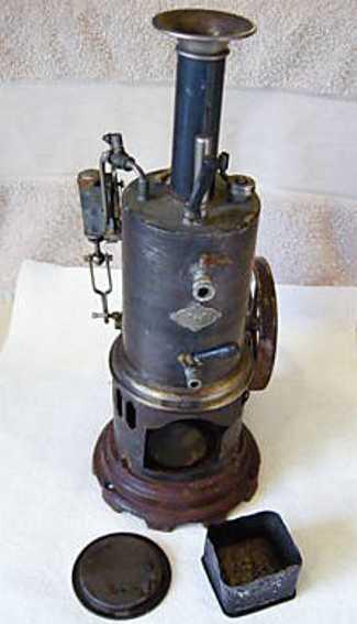 Carette Stehende Dampfmaschine