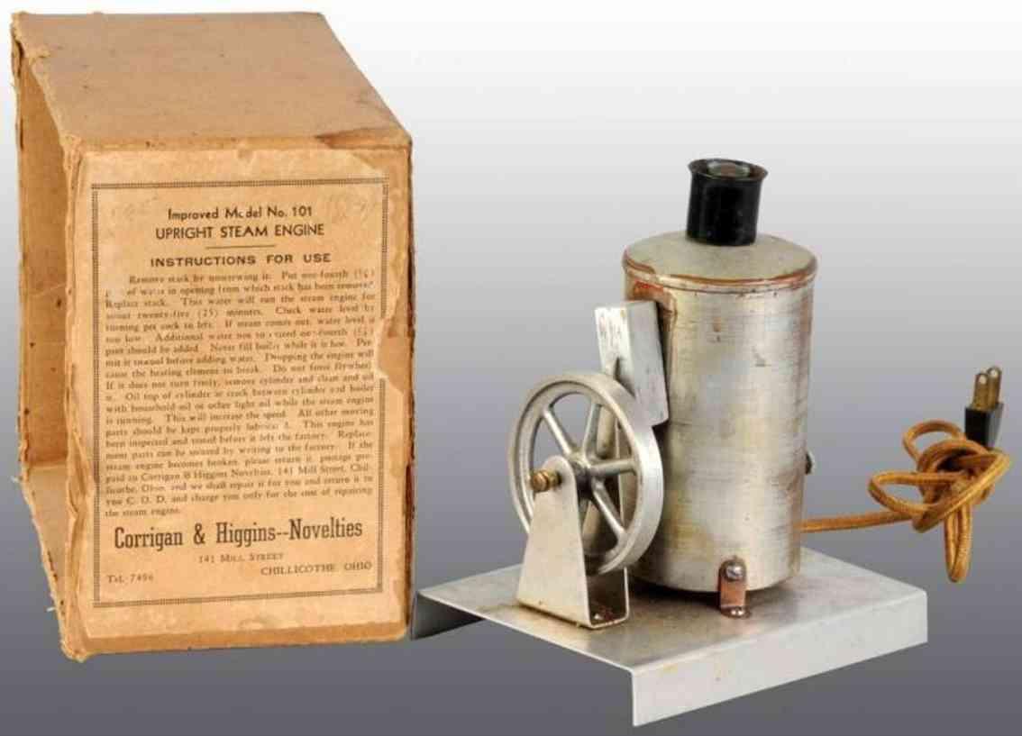 Corrigan & Higgins 101 Stehende Dampfmaschine
