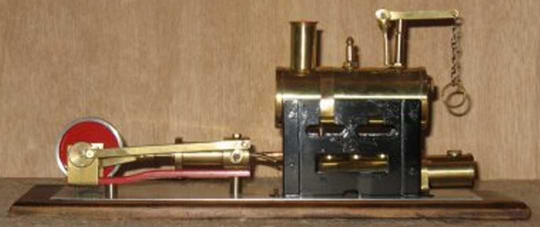 cyldon 13/2 dampfspielzeug liegende dampfmaschine außergewöhnliche dampfmaschine mit kurbelwelle, zylinder, ke