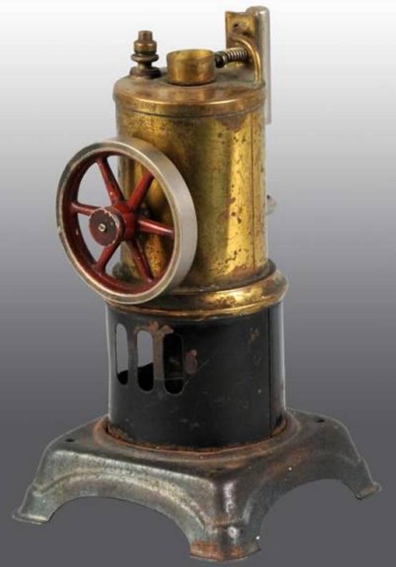 doll 304/0 dampfspielzeug stehende dampfmaschine