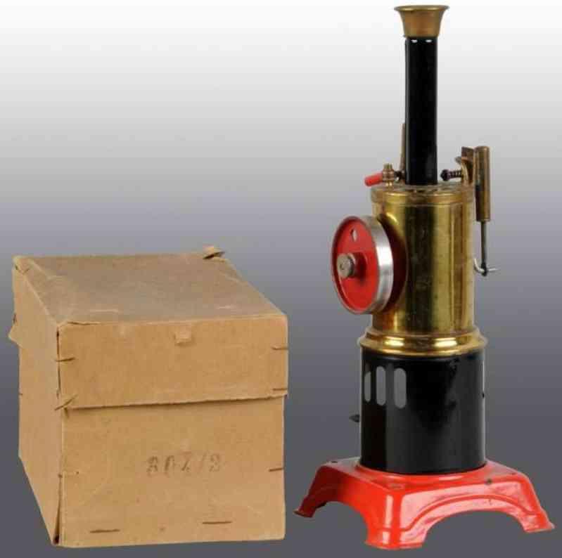 doll 304/2 dampfspielzeug stehende dampfmaschine