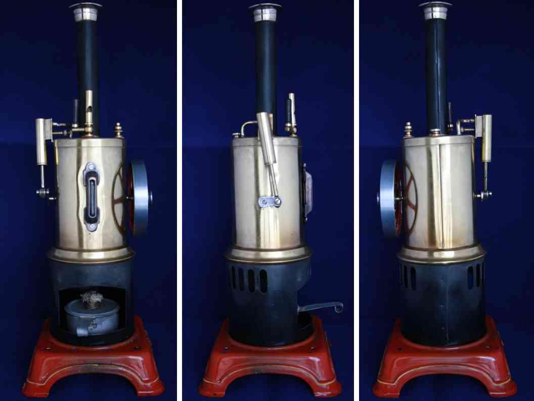 doll 304/4 dampfspielzeug stehende dampfmaschine