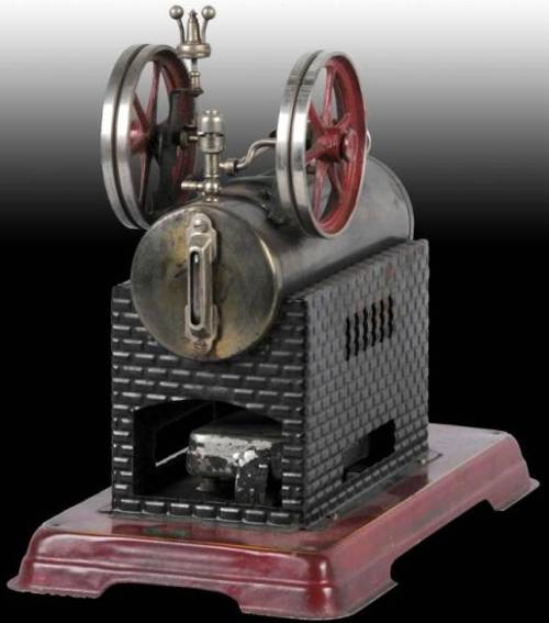 doll 311/6 dampfspielzeug liegende dampfmaschine