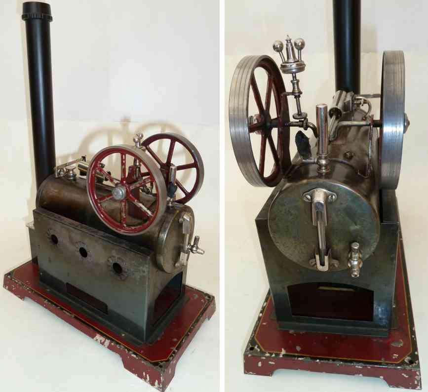 doll 312/6 horizontal steam toy steam engine oscillating brass cylinder
