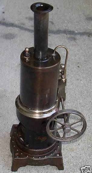 doll 318/1 dampfspielzeug stehende dampfmaschine