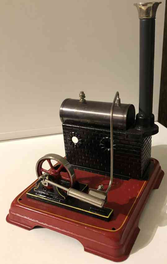 doll 339/1 dampfspielzeug liegende dampfmaschine