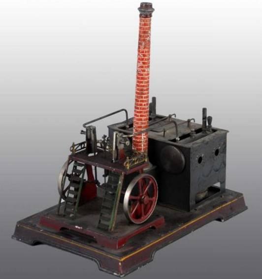 doll 340 dampfspielzeug liegende dampfmaschine