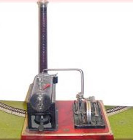 doll 343/4 dampfspielzeug liegende dampfmaschine