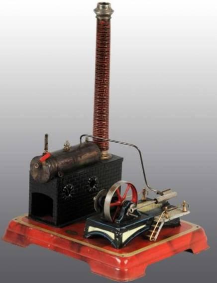 doll 344/1 dampfspielzeug liegende dampfmaschine