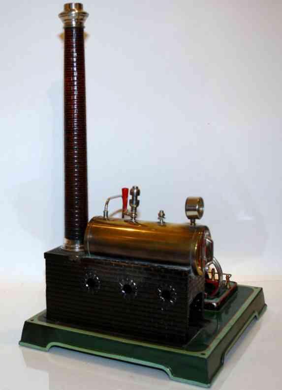 doll 348/3 dampfspielzeug liegende dampfmaschine