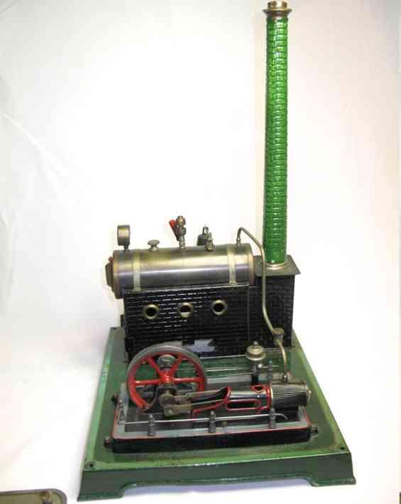 doll 348/4 dampfspielzeug liegende dampfmaschine