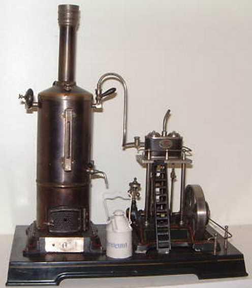 doll 352/3 dampfspielzeug stehende dampfmaschine schiffsdampfmaschine