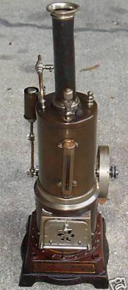 doll 354/1 dampfspielzeug stehende dampfmaschine senkrechte