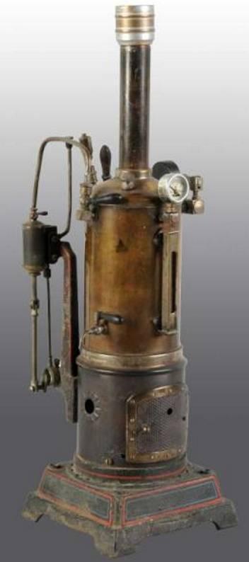 doll 354/4 dampfspielzeug stehende dampfmaschine