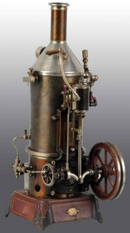 doll 359/2 dampfspielzeug stehende dampfmaschine