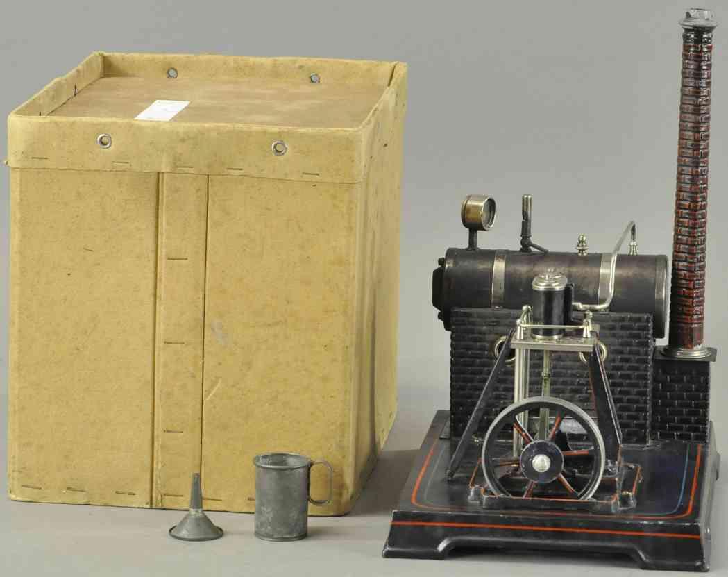 doll 360/1 dampfspielzeug liegende dampfmaschine