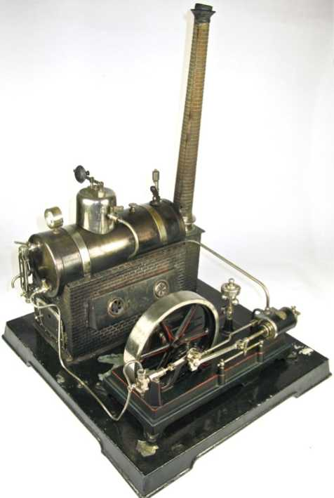 doll 364/3 dampfspielzeug liegende dampfmaschine