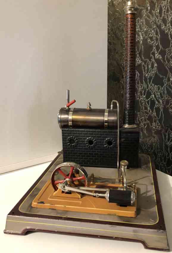 doll 404/1 variante dampfspielzeug liegende dampfmaschine liegende dampfmaschinen
