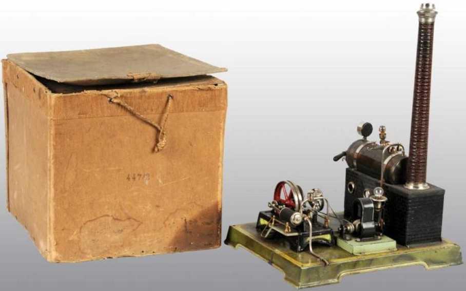 doll 404/2 447/2 dampfspielzeug liegende dampfmaschine