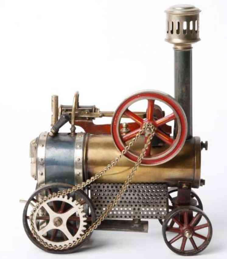 doll 501/2 dampfspielzeug fahrbare lokomobile