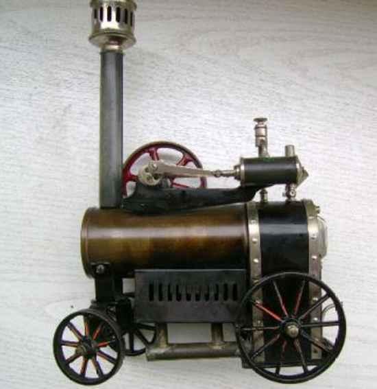 doll 502/1 dampfspielzeug fahrbare lokomobile