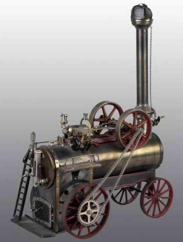 doll 502/5 dampfspielzeug fahrbare lokomobile