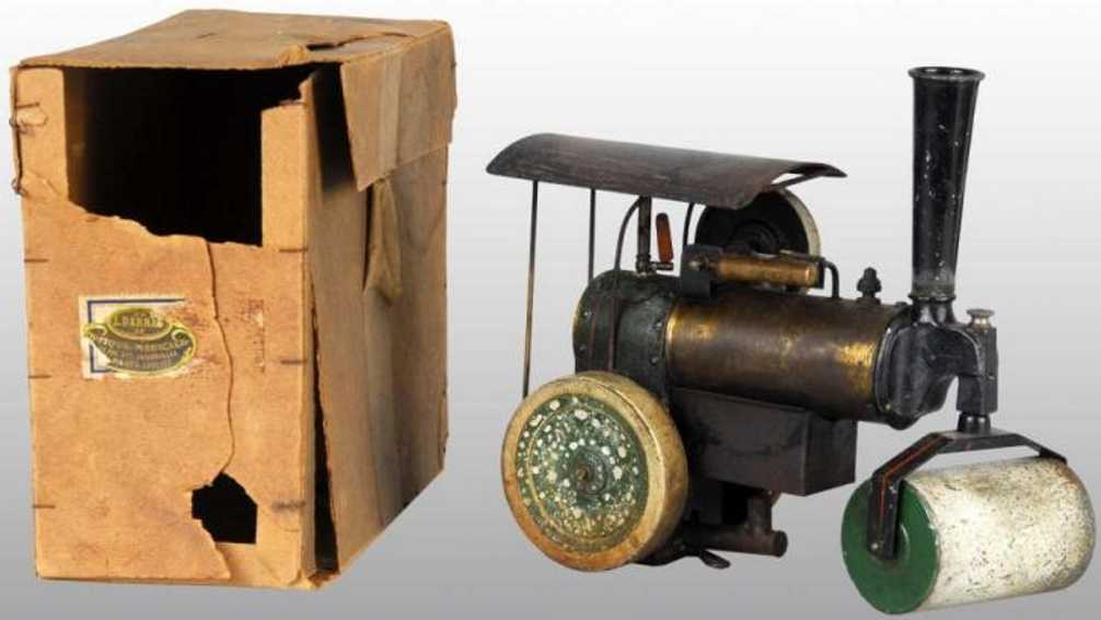 doll 506 dampfspielzeug dampf-strassenwalze