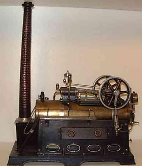 doll 512/2 dampfspielzeug stationaere lokomobile zwei zylinder