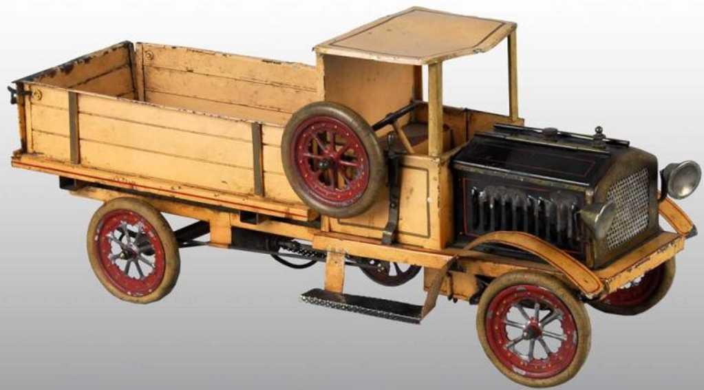 doll 802 blech spielzeug lastwagen mit dampfantrieb