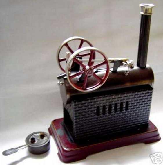 doll 311/3 dampfspielzeug liegende dampfmaschine
