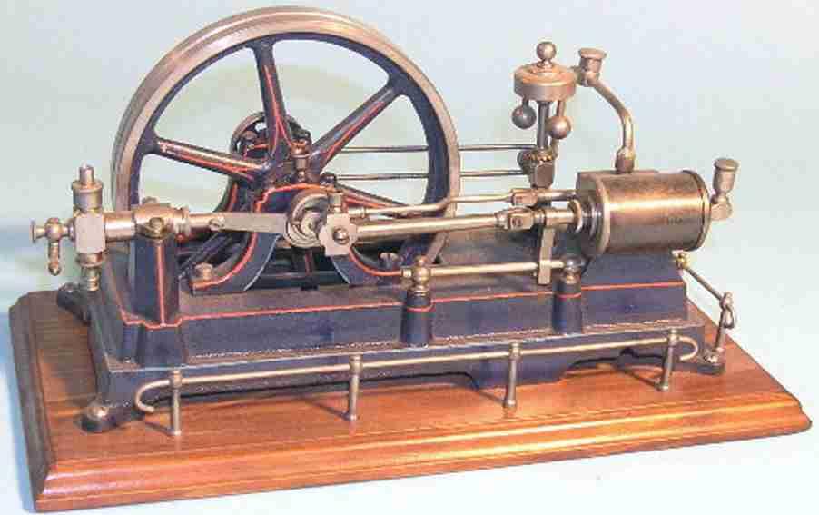 doll dampfspielzeug liegende dampfmaschine