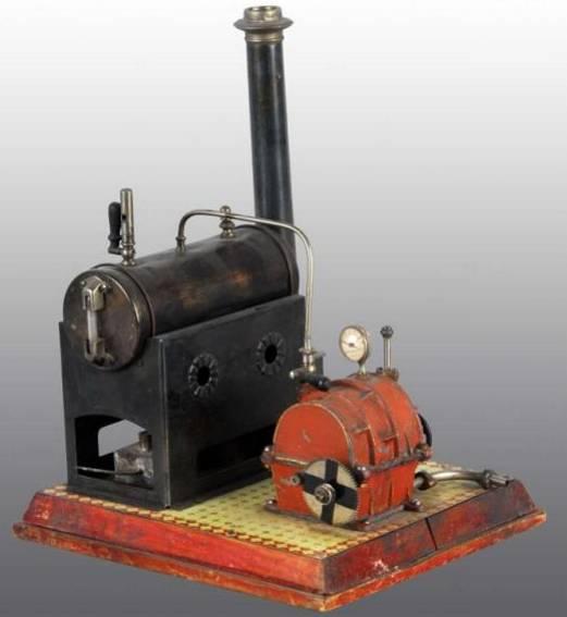 doll dampfspielzeug liegende dampfmaschine mit dampfturbine