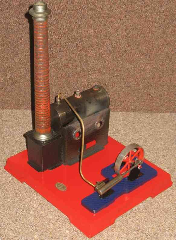 falk 483/3 dampfspielzeug liegende dampfmaschine