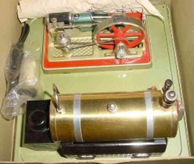 fleischmann 125/2 dampfspielzeug liegende dampfmaschine