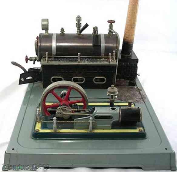 fleischmann 125/4 dampfspielzeug liegende dampfmaschine