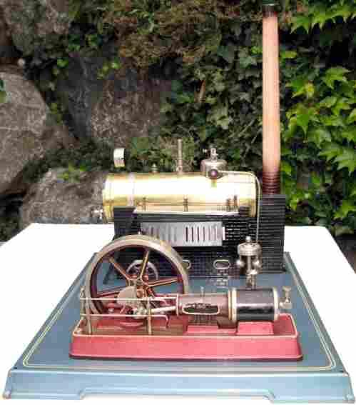 Fleischmann 135/2 Liegende Dampfmaschine