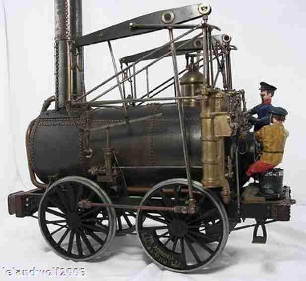Foster Rastrick & Company Fahrbare Lokomobile Die Agenoria