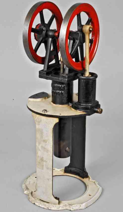heinrici louis dampfspielzeug stehender heissluftmotor