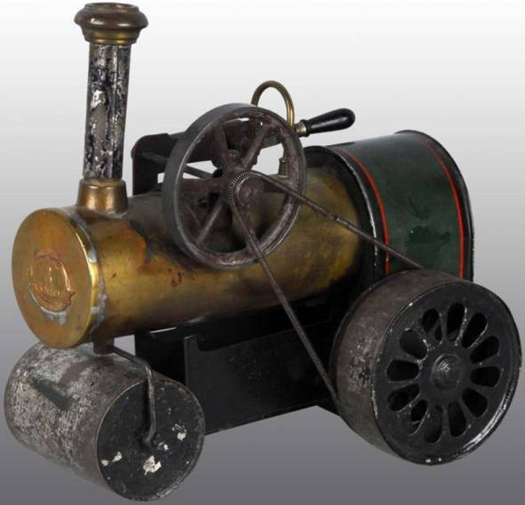 mohr & krauss dampfspielzeug fahrbare dampflokomobile