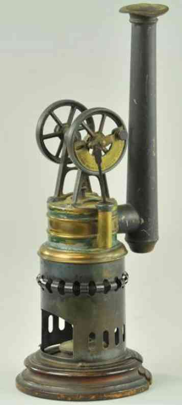 mohr & krauss dampfspielzeug stehende heissluftmotoren