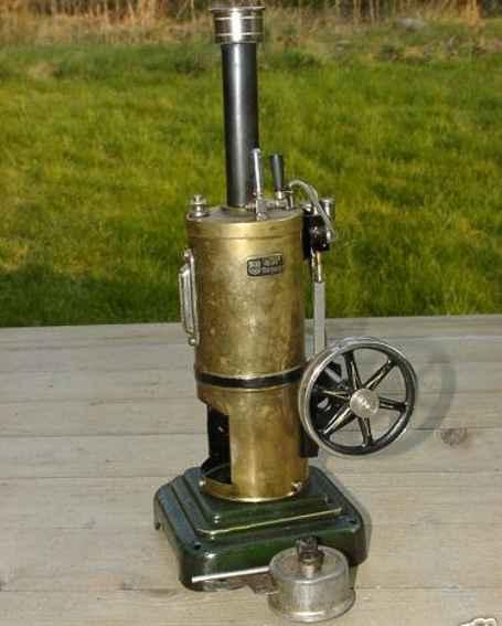 maerklin 4106/6 dampfspielzeug stehende dampfmaschine stehende dampfmaschine, kesseldurchmesser 6 cm, schwungraddu