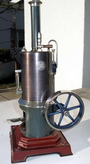 Märklin 4107/ 7 1/2 Stehende Dampfmaschine