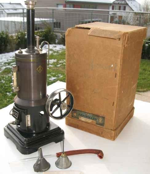 Märklin 4107 8 1/2 Stehende Dampfmaschine